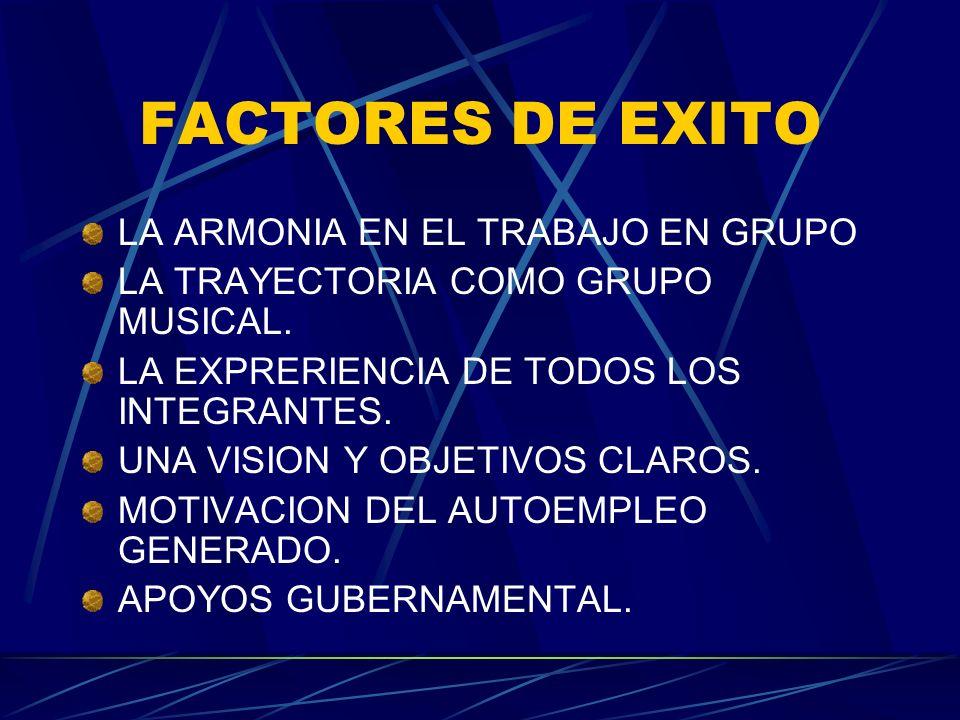 FACTORES DE EXITO LA ARMONIA EN EL TRABAJO EN GRUPO