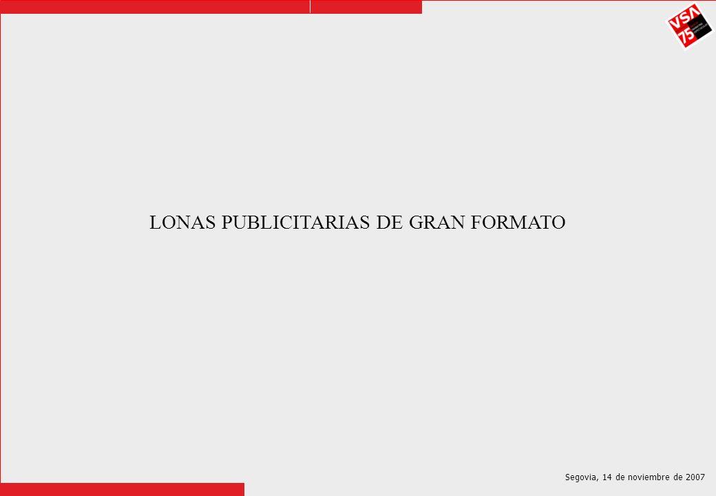 LONAS PUBLICITARIAS DE GRAN FORMATO