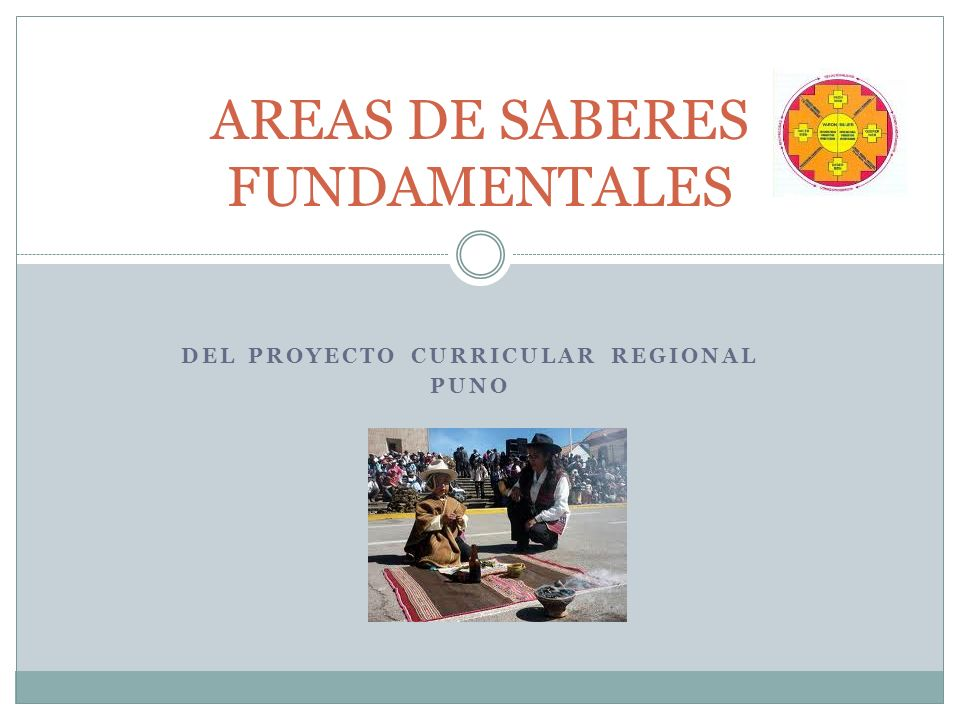 AREAS DE SABERES FUNDAMENTALES