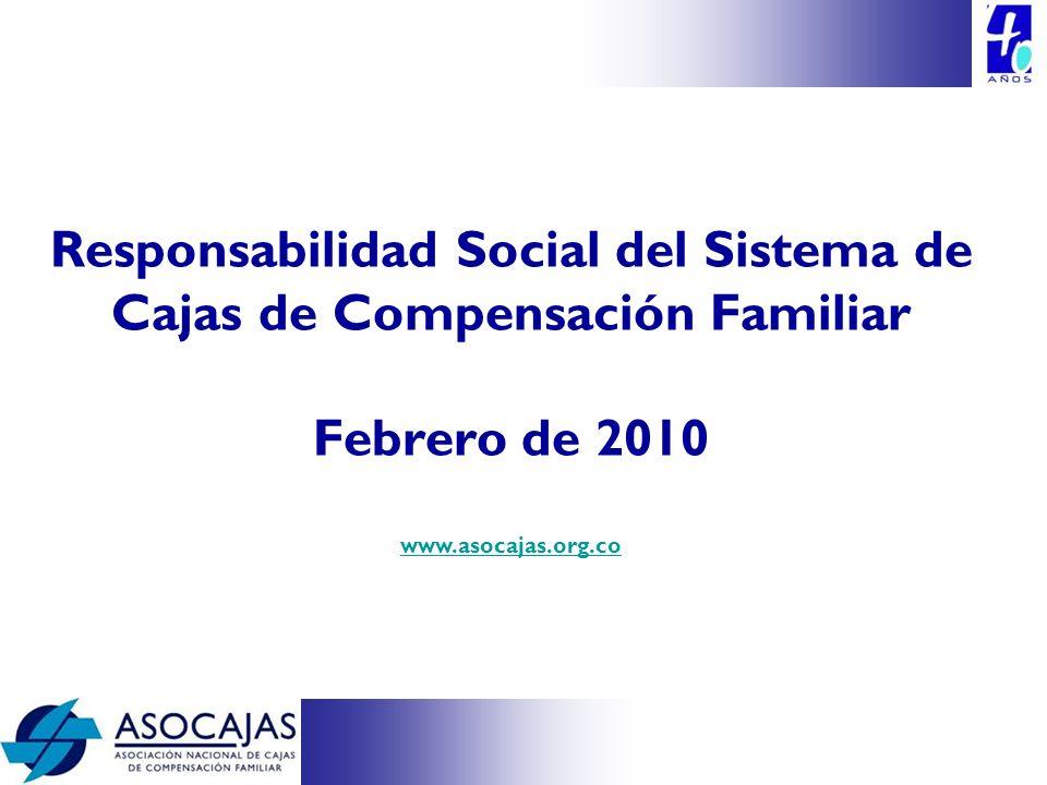 Responsabilidad Social del Sistema de Cajas de Compensación Familiar