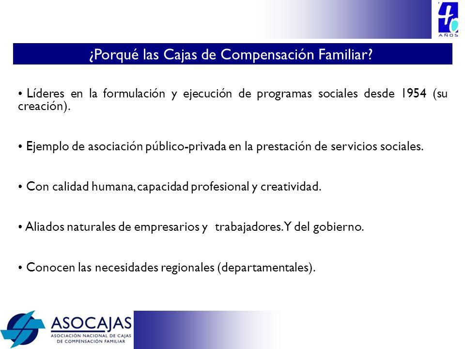 ¿Porqué las Cajas de Compensación Familiar