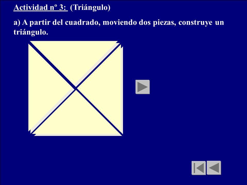 Actividad nº 3: (Triángulo)