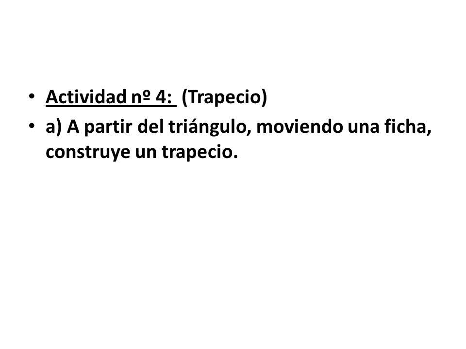 Actividad nº 4: (Trapecio)