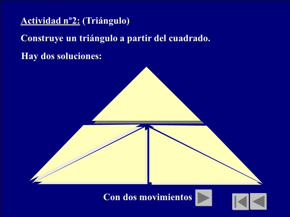 Actividad nº2: (Triángulo)