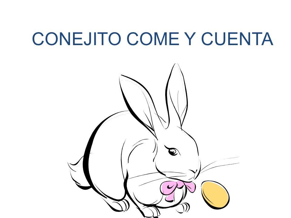 CONEJITO COME Y CUENTA
