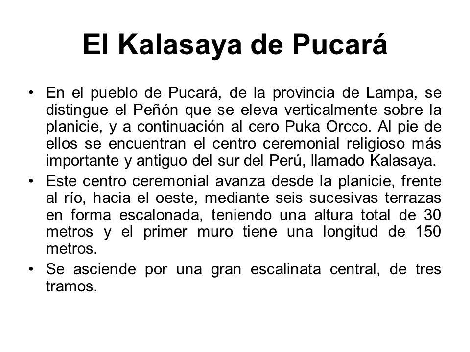 El Kalasaya de Pucará