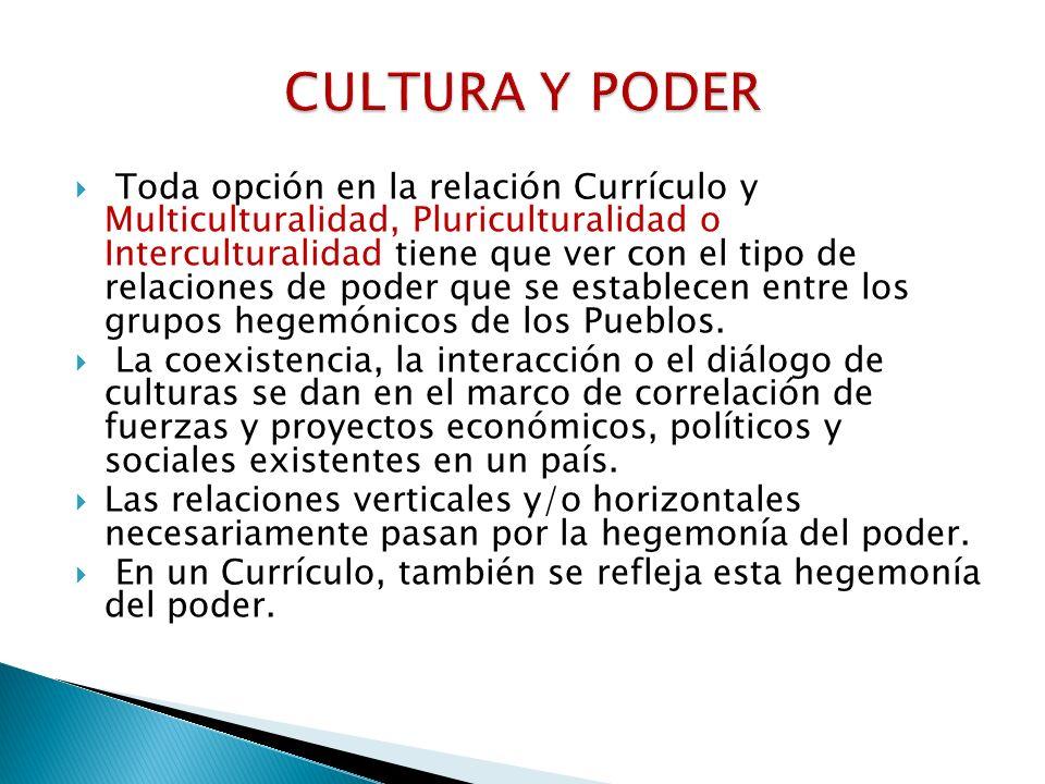 CULTURA Y PODER