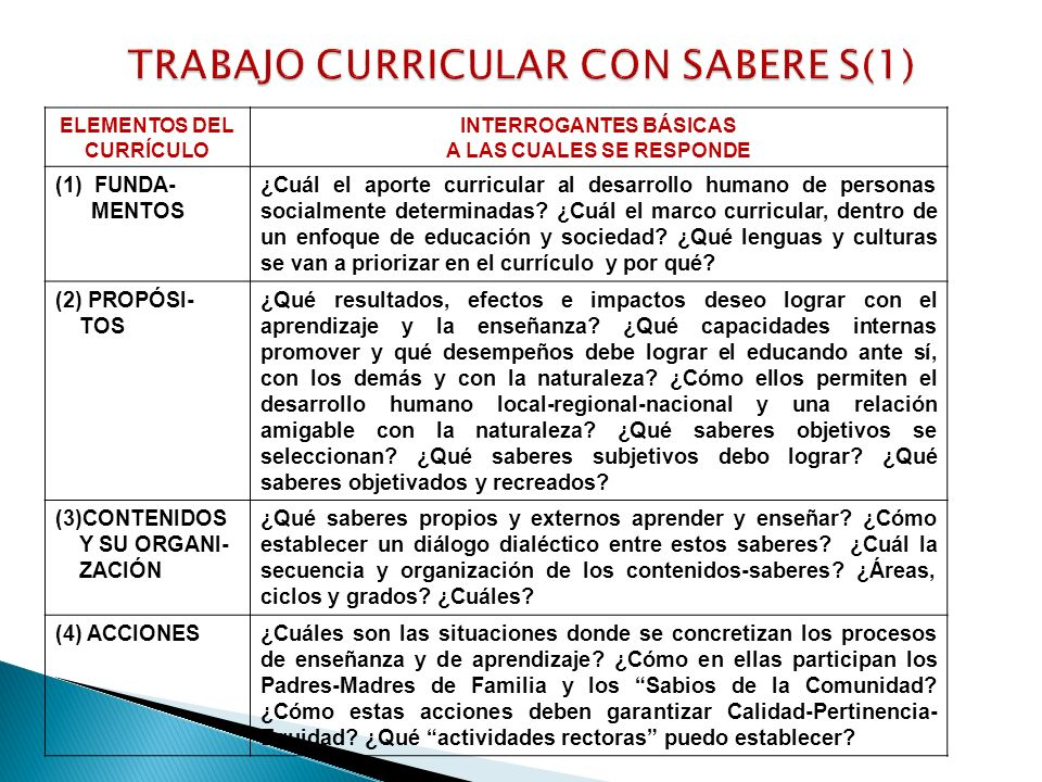 TRABAJO CURRICULAR CON SABERE S(1)