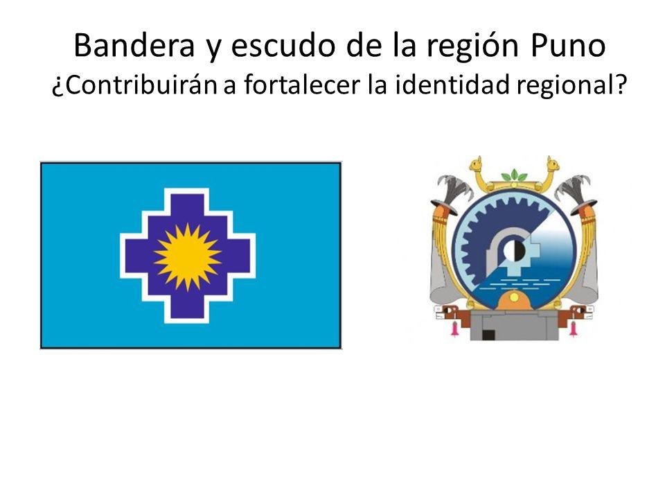 Bandera y escudo de la región Puno ¿Contribuirán a fortalecer la identidad regional