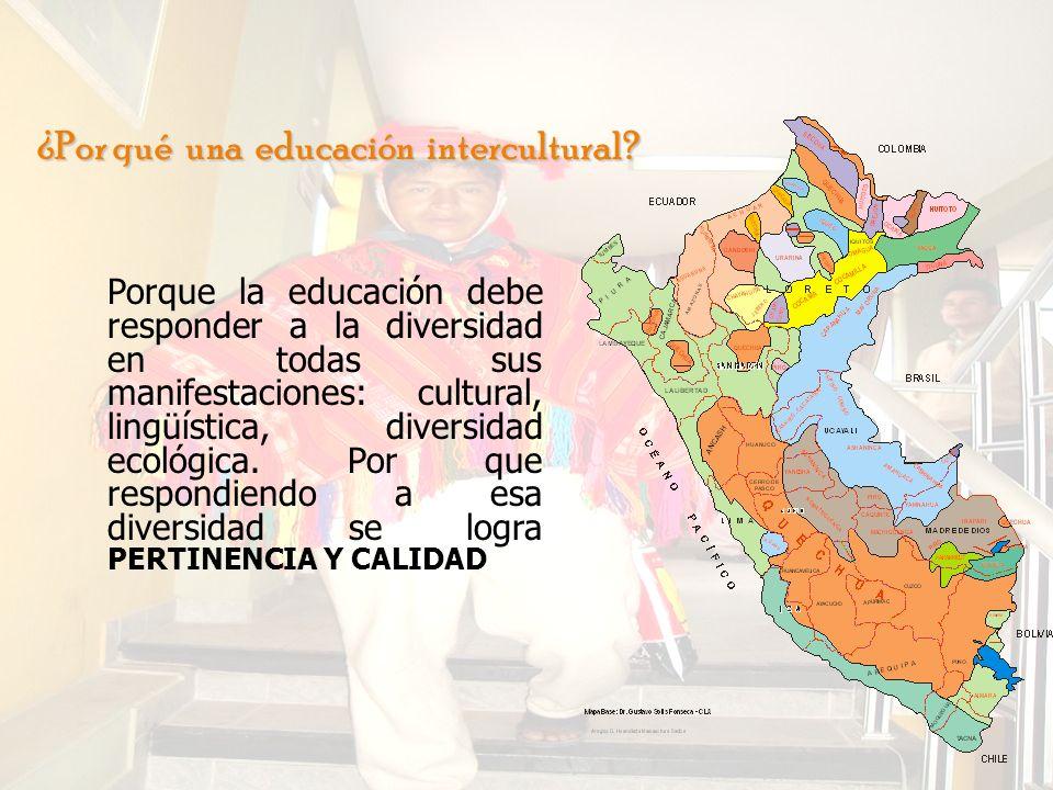 ¿Por qué una educación intercultural