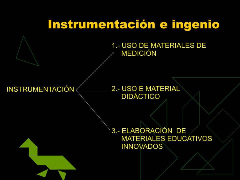 Instrumentación e ingenio