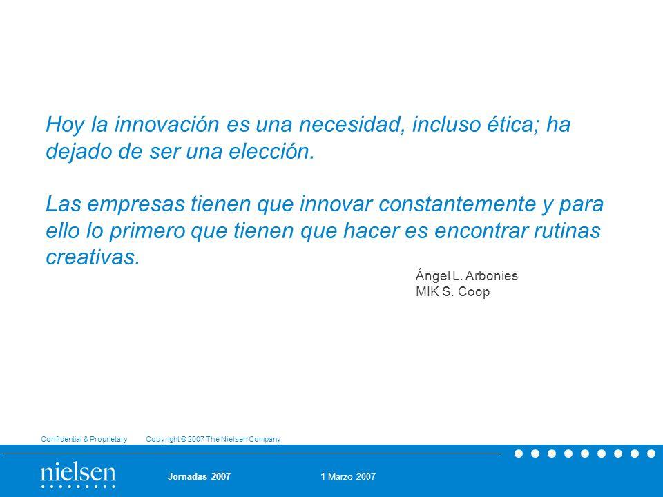 Hoy la innovación es una necesidad, incluso ética; ha