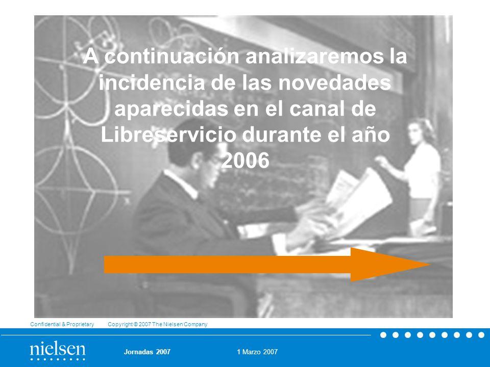 A continuación analizaremos la incidencia de las novedades aparecidas en el canal de Libreservicio durante el año 2006