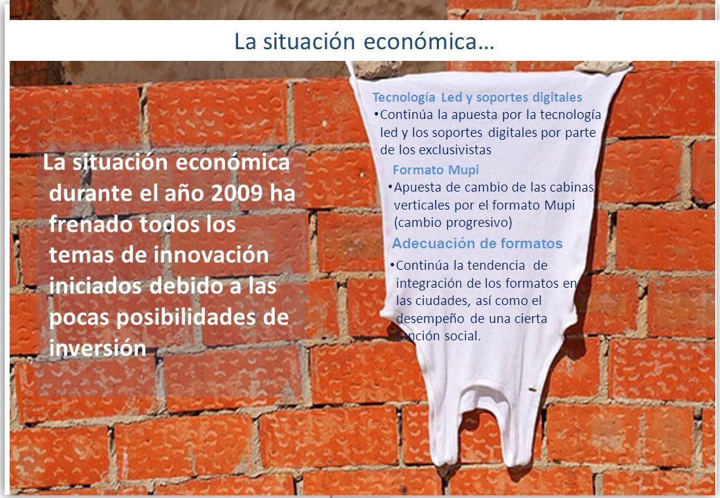 La situación económica…