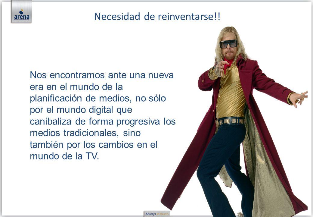 Necesidad de reinventarse!!