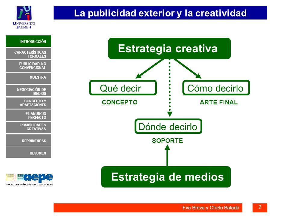 Estrategia creativa Estrategia de medios Qué decir Cómo decirlo