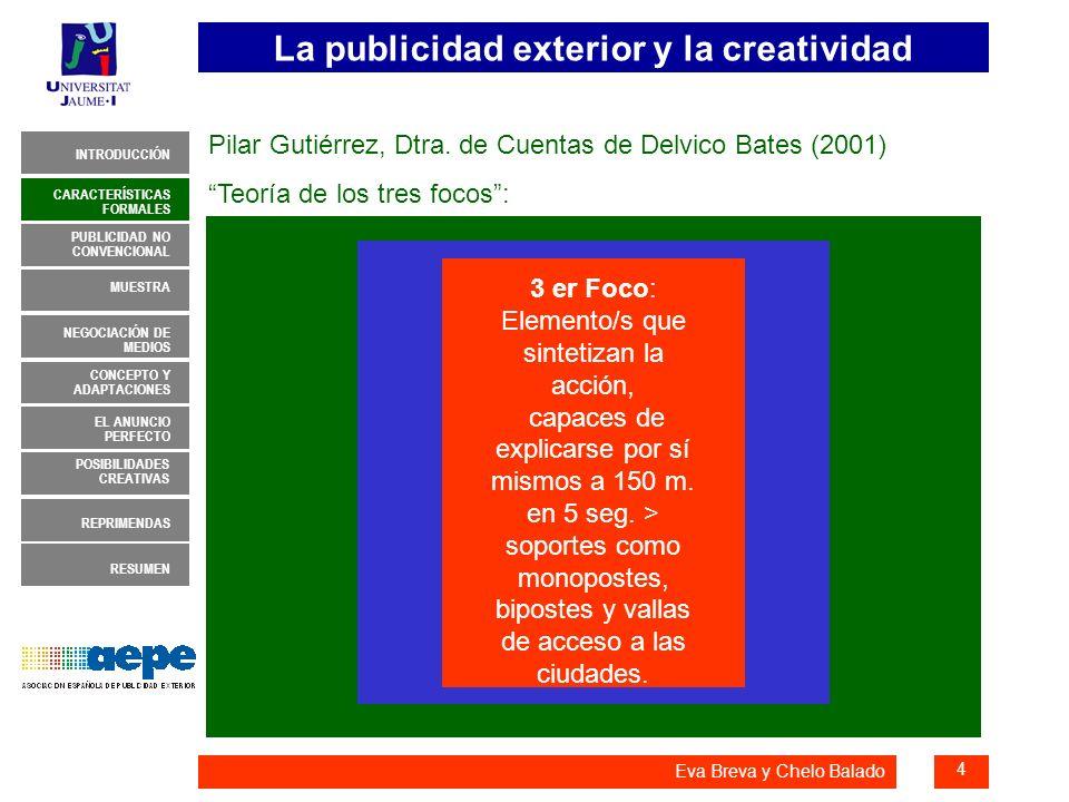 Pilar Gutiérrez, Dtra. de Cuentas de Delvico Bates (2001)