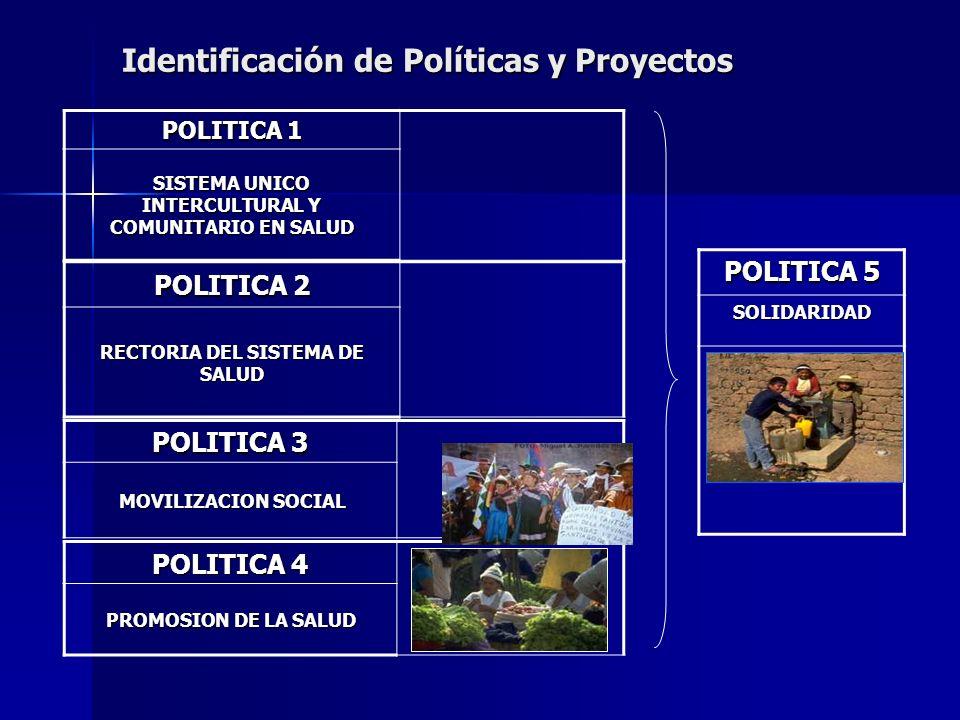 Identificación de Políticas y Proyectos