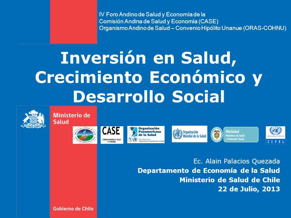 Inversión en Salud, Crecimiento Económico y Desarrollo Social