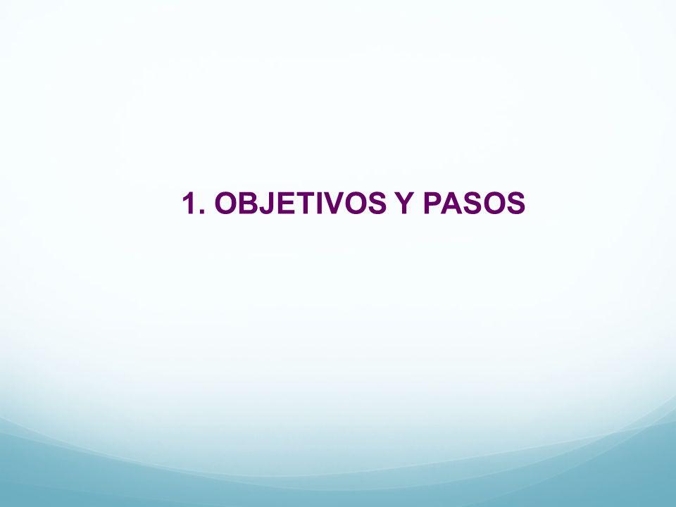 1. OBJETIVOS Y PASOS