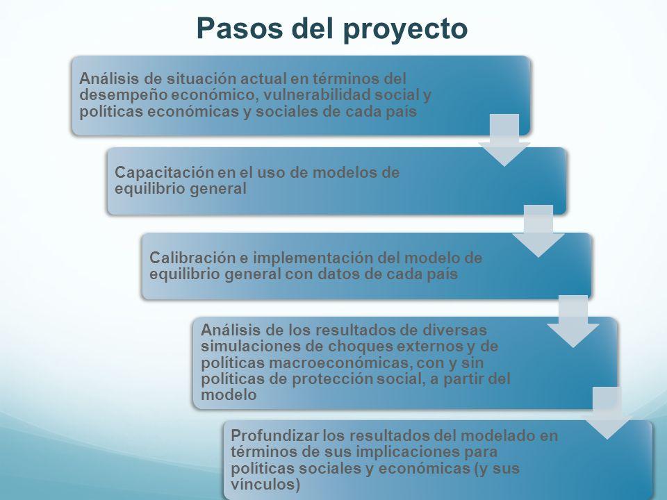Pasos del proyecto
