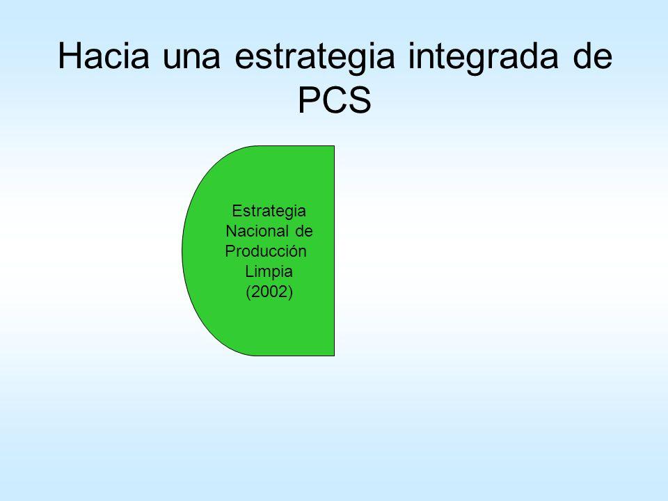 Hacia una estrategia integrada de PCS