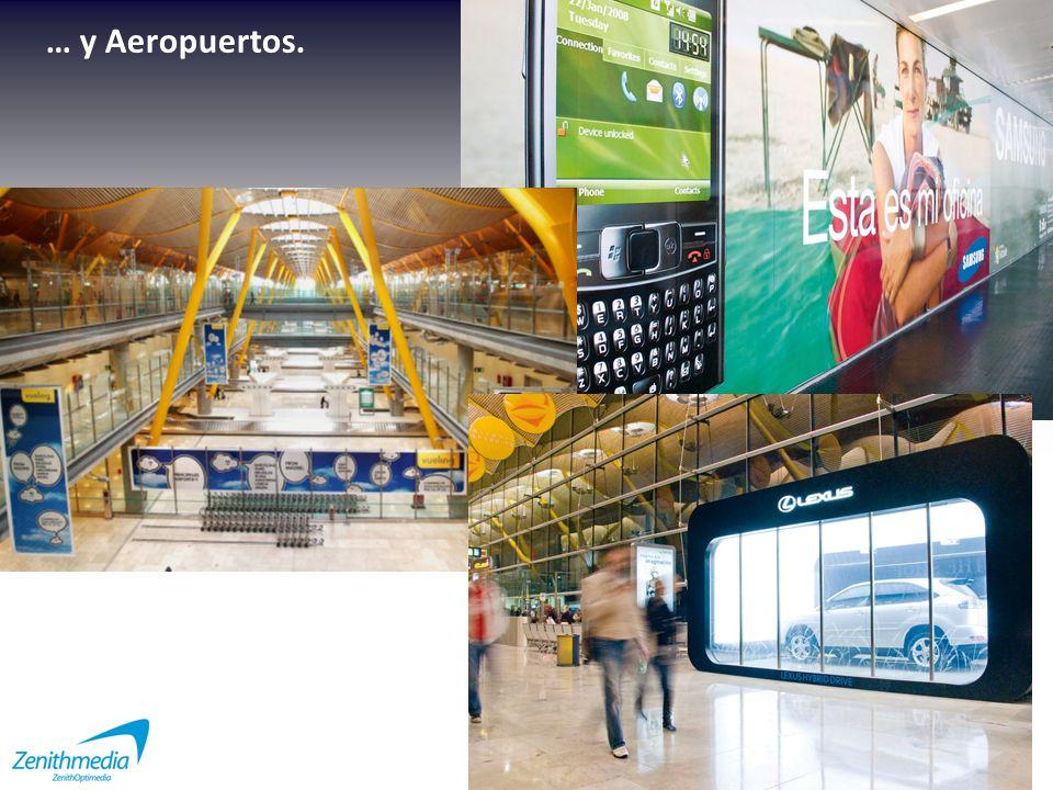 … y Aeropuertos.