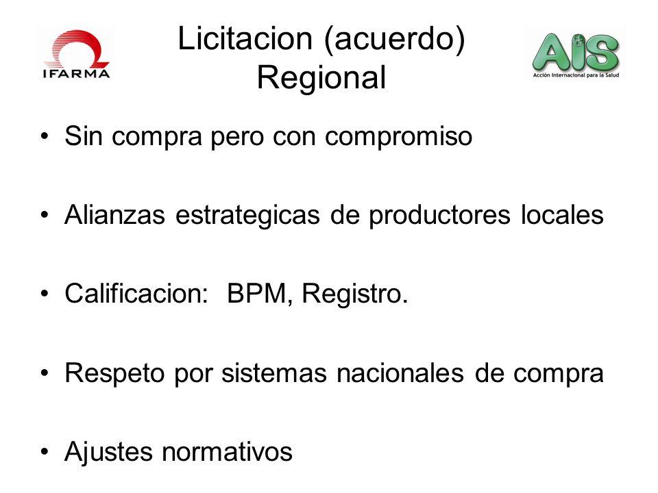Licitacion (acuerdo) Regional