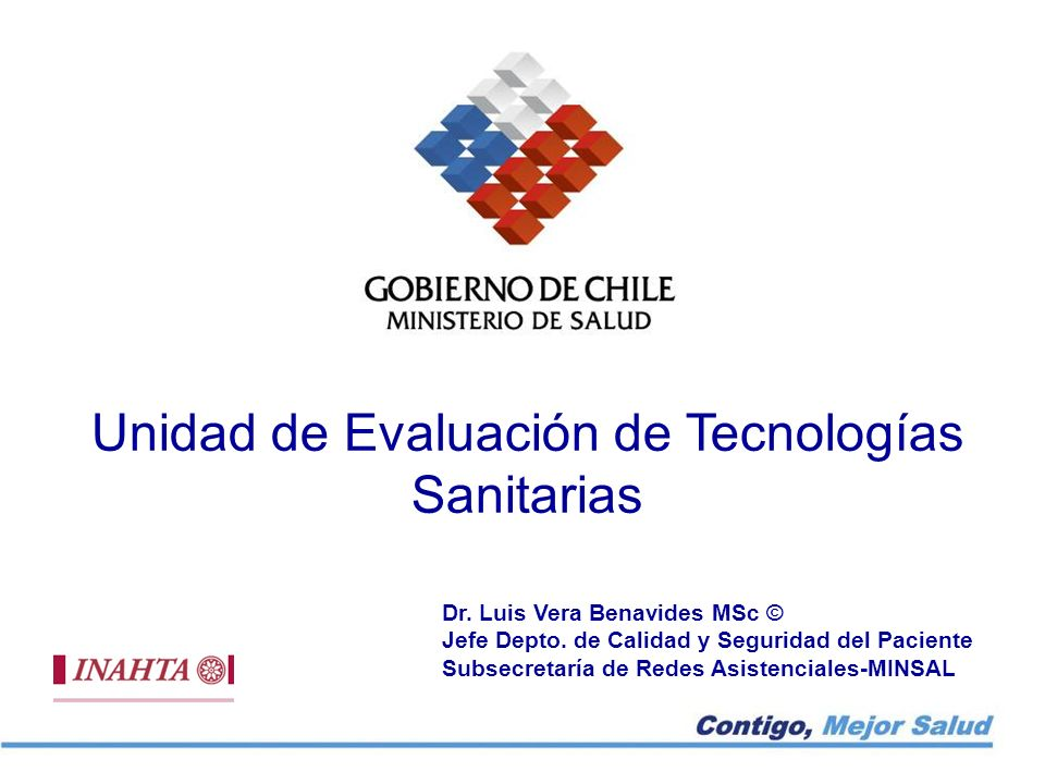Unidad de Evaluación de Tecnologías Sanitarias