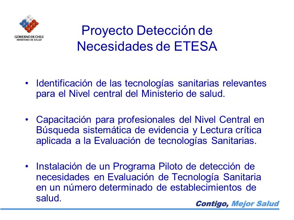 Proyecto Detección de Necesidades de ETESA