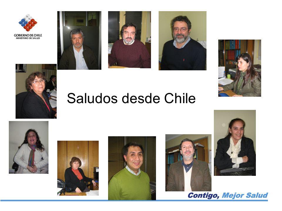 Saludos desde Chile