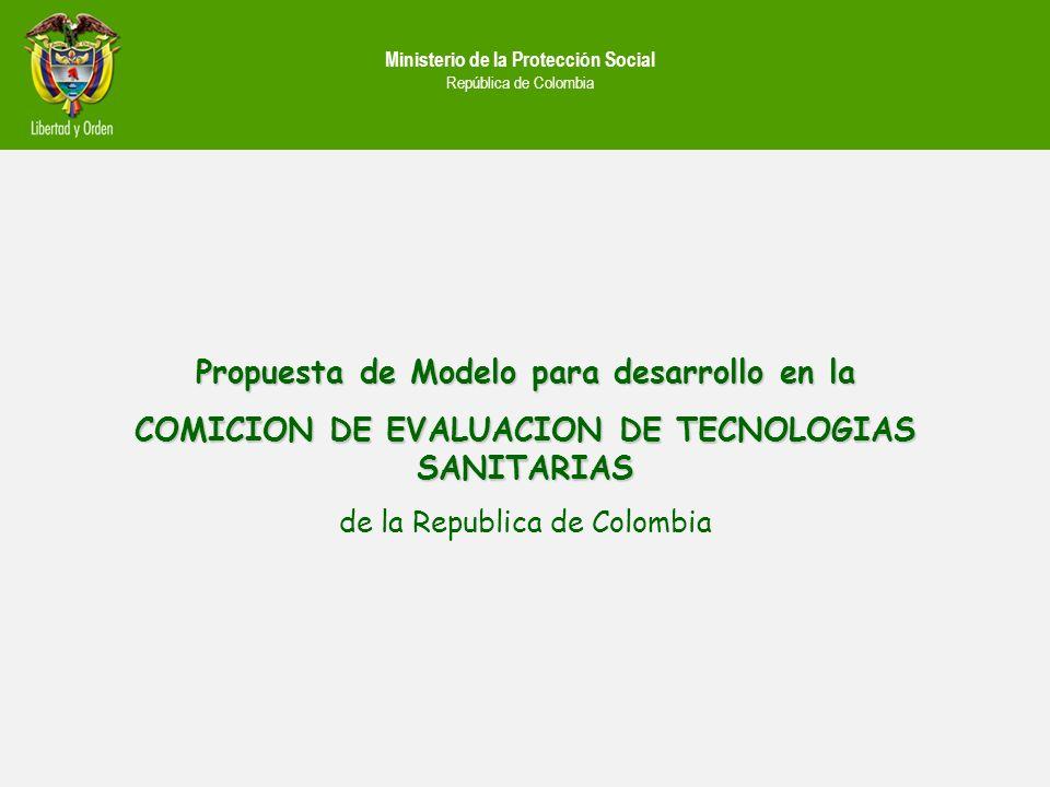 Propuesta de Modelo para desarrollo en la