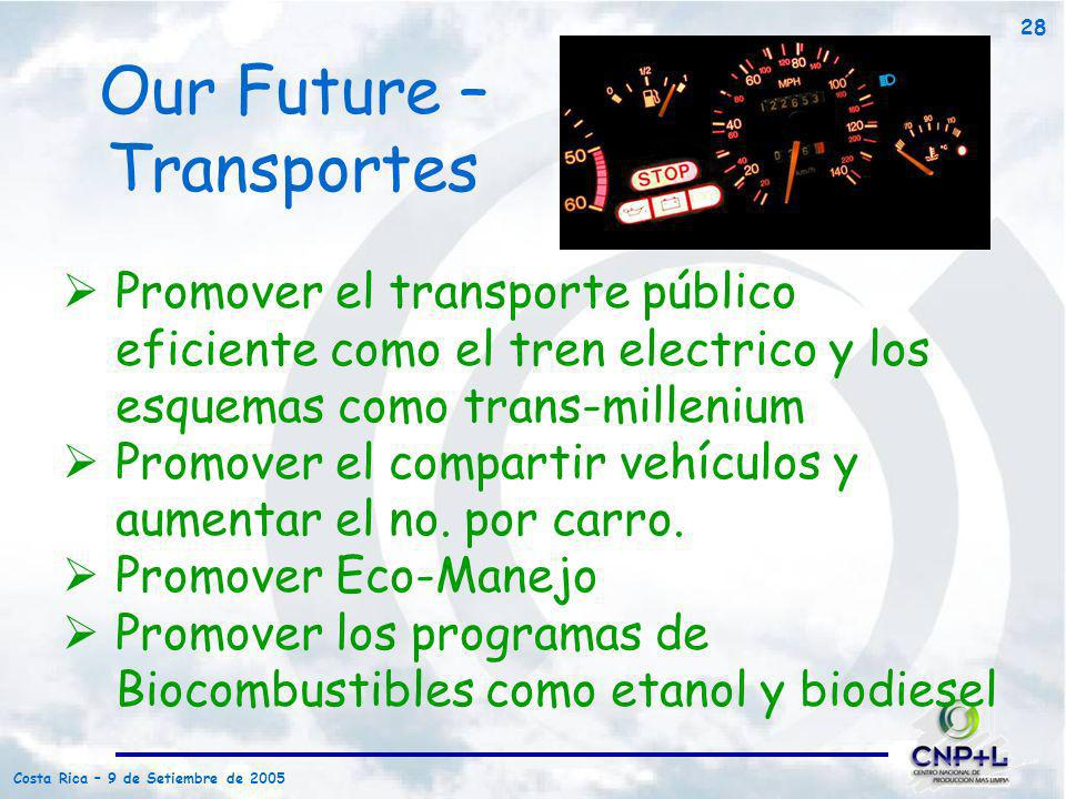 Our Future – Transportes