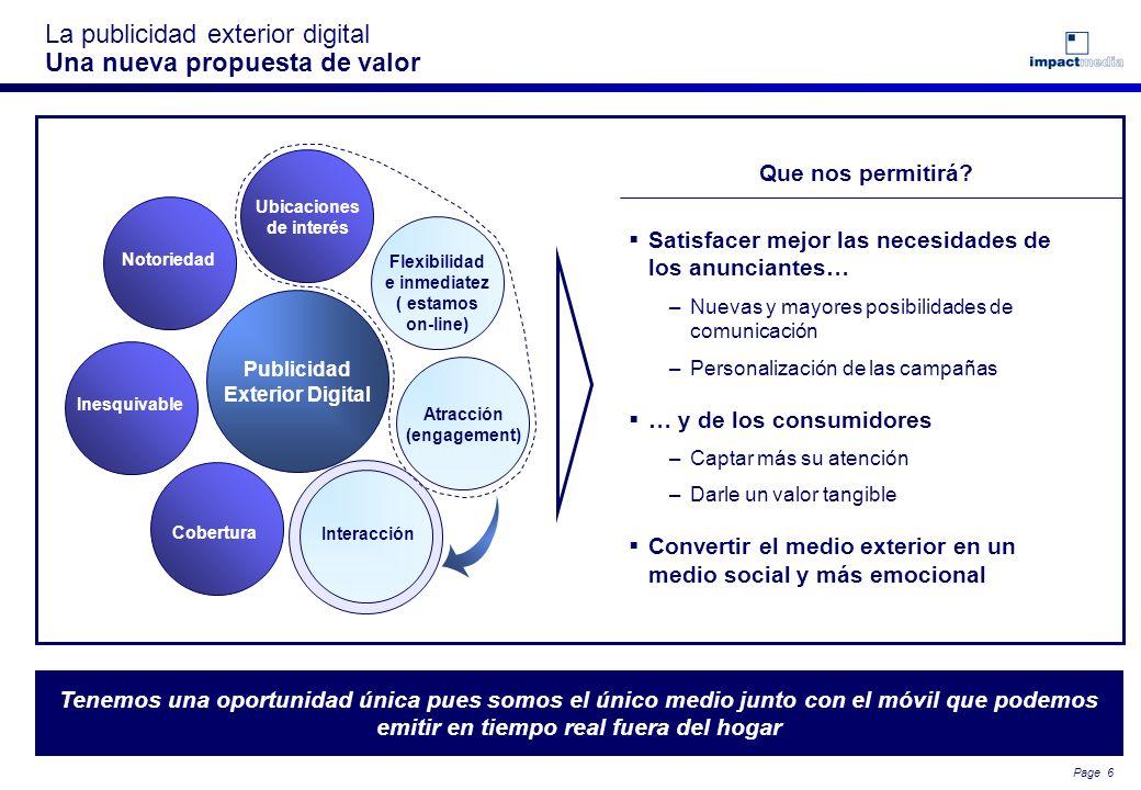 La publicidad exterior digital Una nueva propuesta de valor
