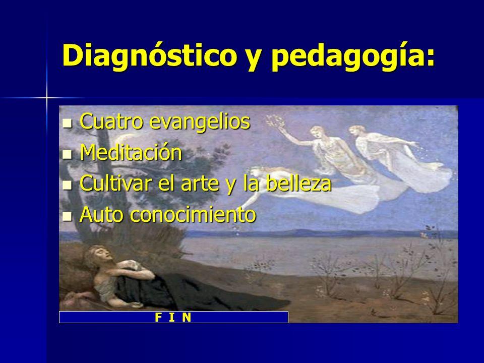 Diagnóstico y pedagogía: