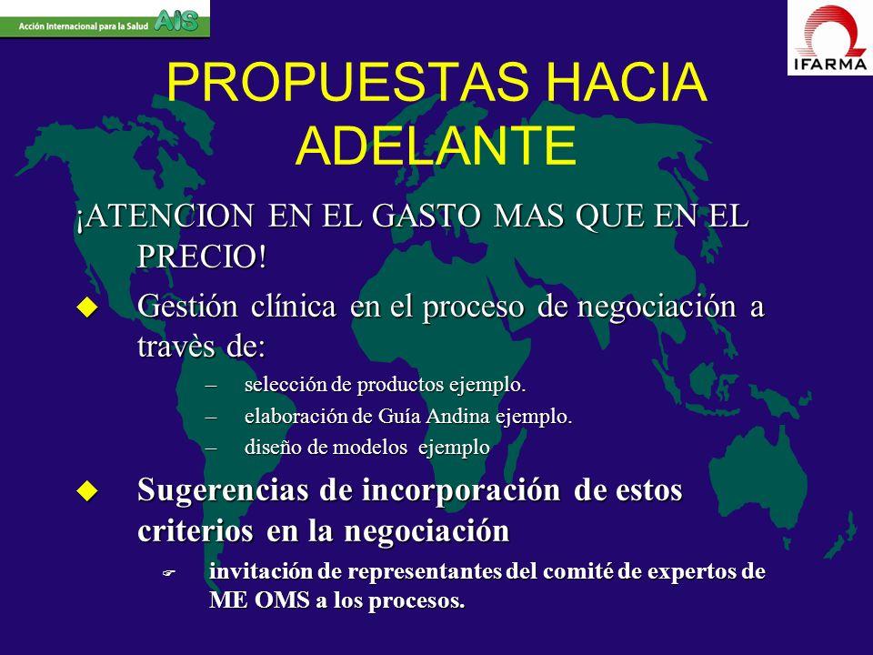 PROPUESTAS HACIA ADELANTE