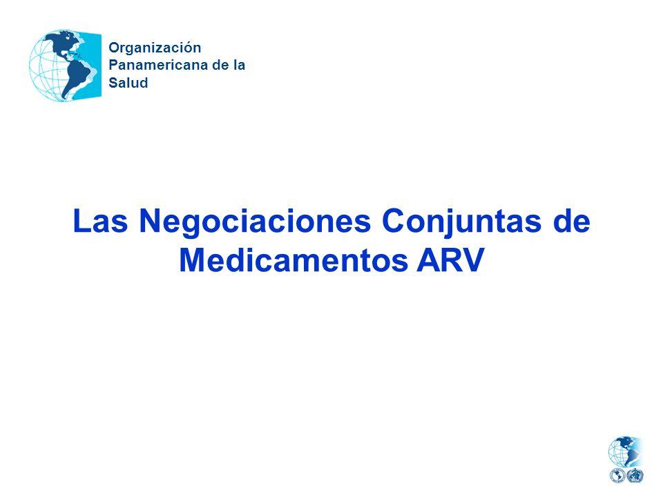 Las Negociaciones Conjuntas de Medicamentos ARV