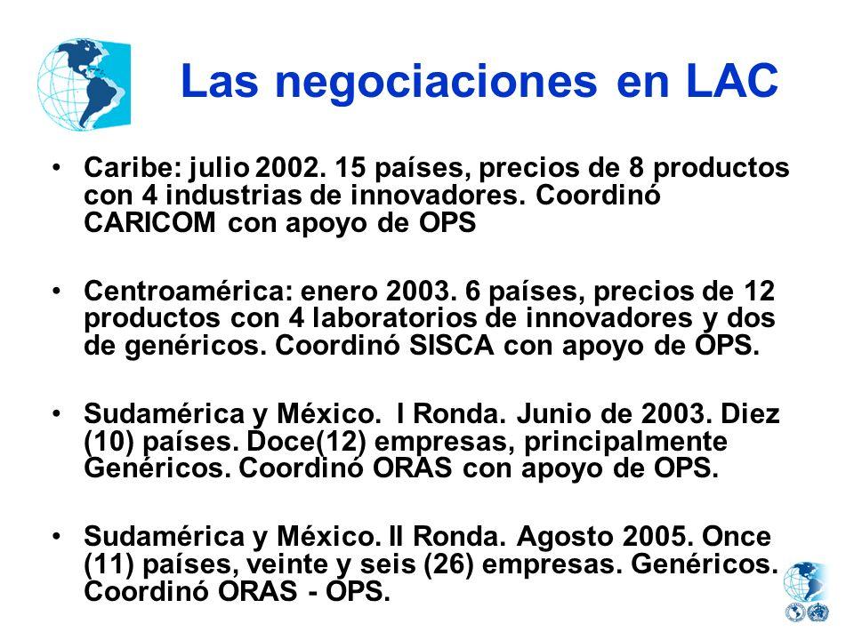 Las negociaciones en LAC