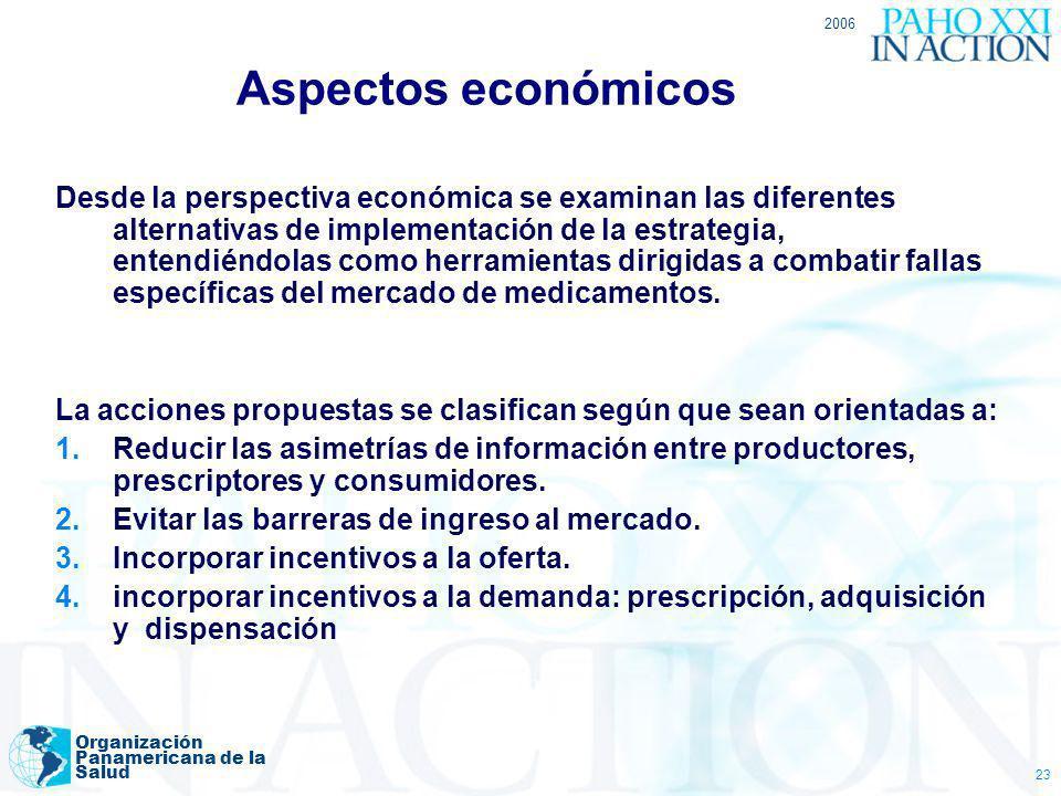2006 Aspectos económicos.