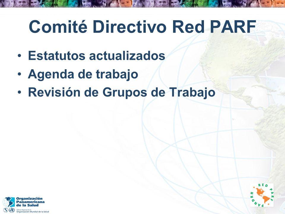Comité Directivo Red PARF