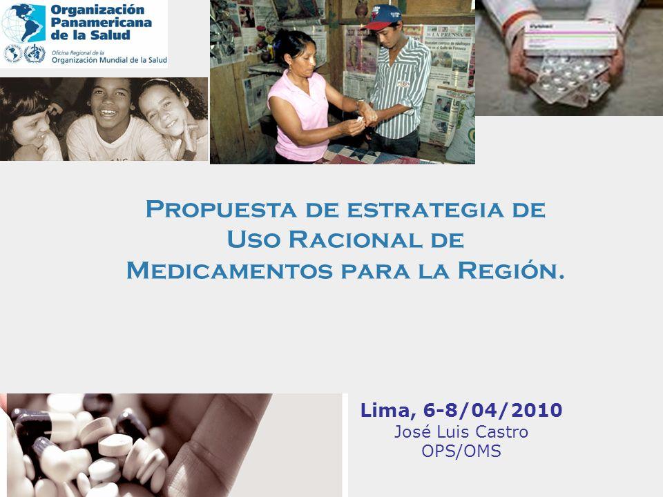 José Luis Castro OPS/OMS