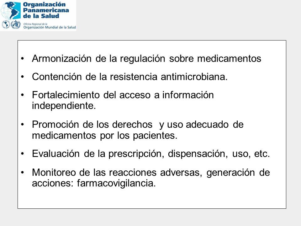 Armonización de la regulación sobre medicamentos