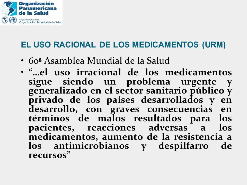EL USO RACIONAL DE LOS MEDICAMENTOS (URM)