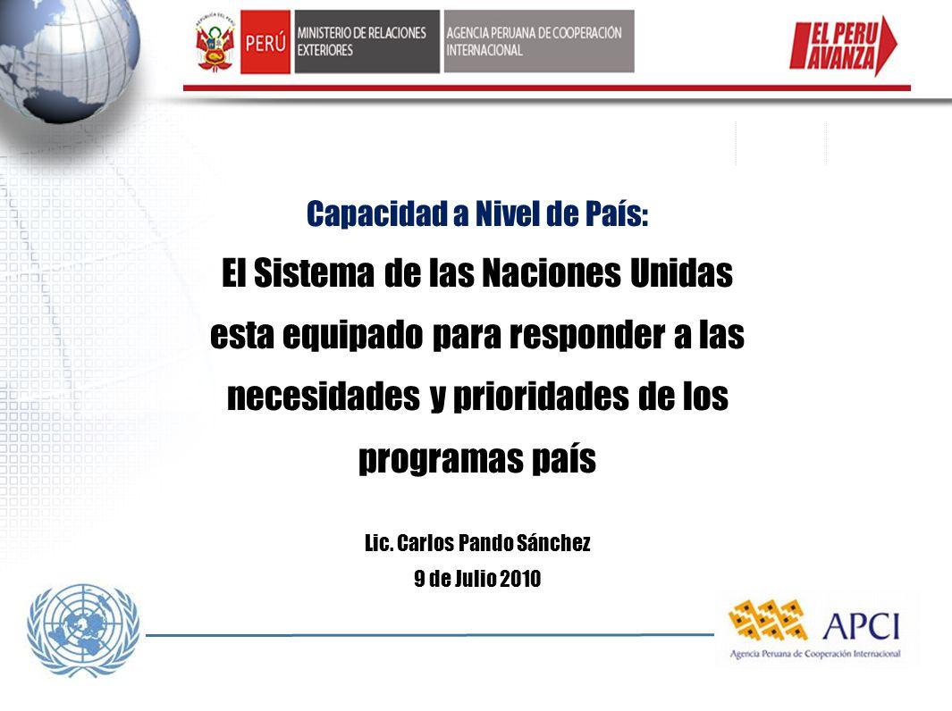 Lic. Carlos Pando Sánchez