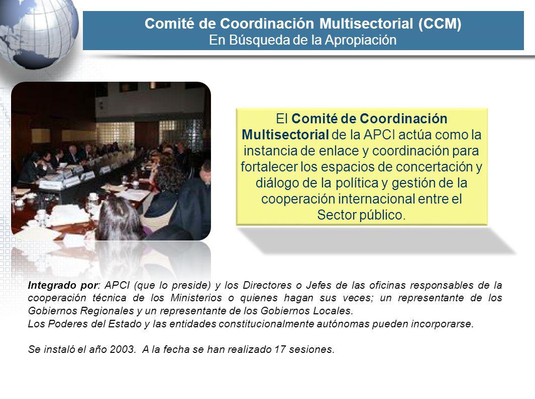 Comité de Coordinación Multisectorial (CCM)