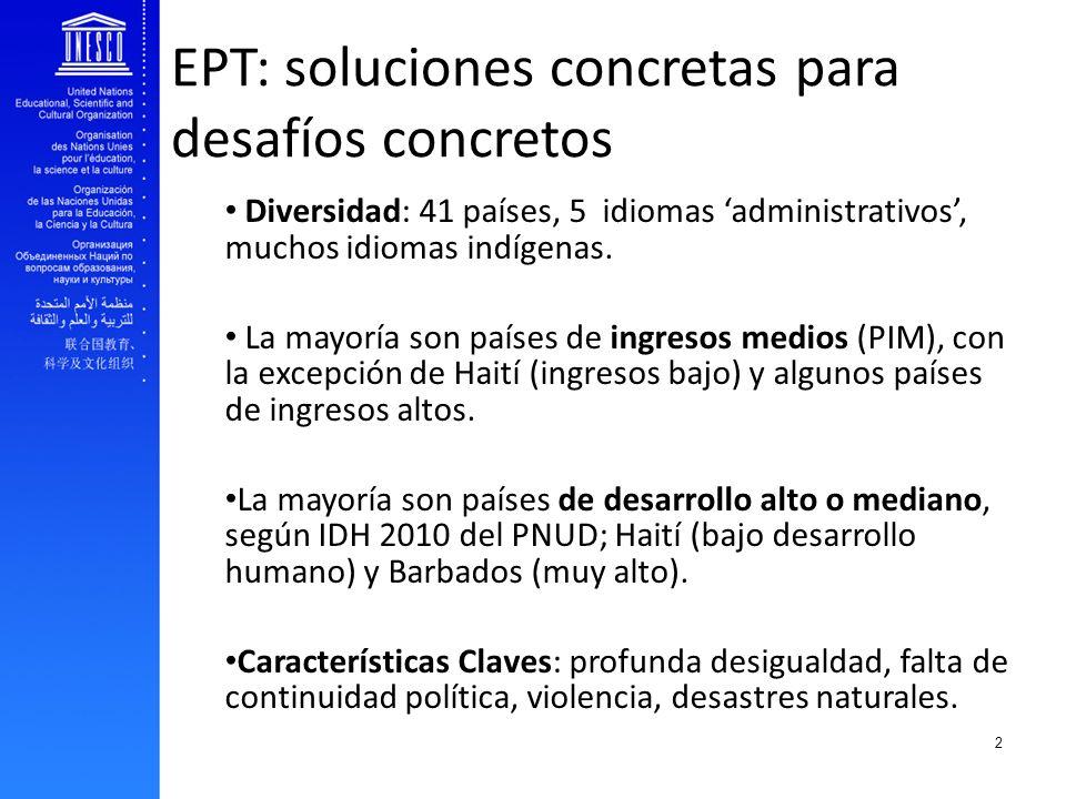 EPT: soluciones concretas para desafíos concretos