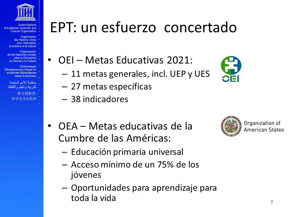 EPT: un esfuerzo concertado