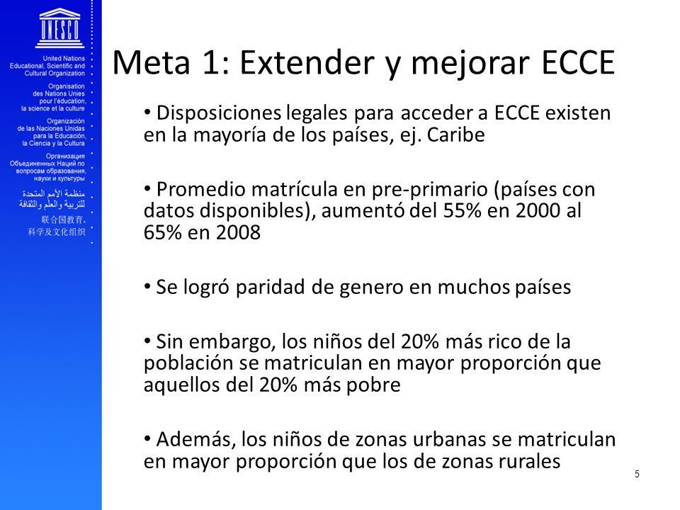 Meta 1: Extender y mejorar ECCE