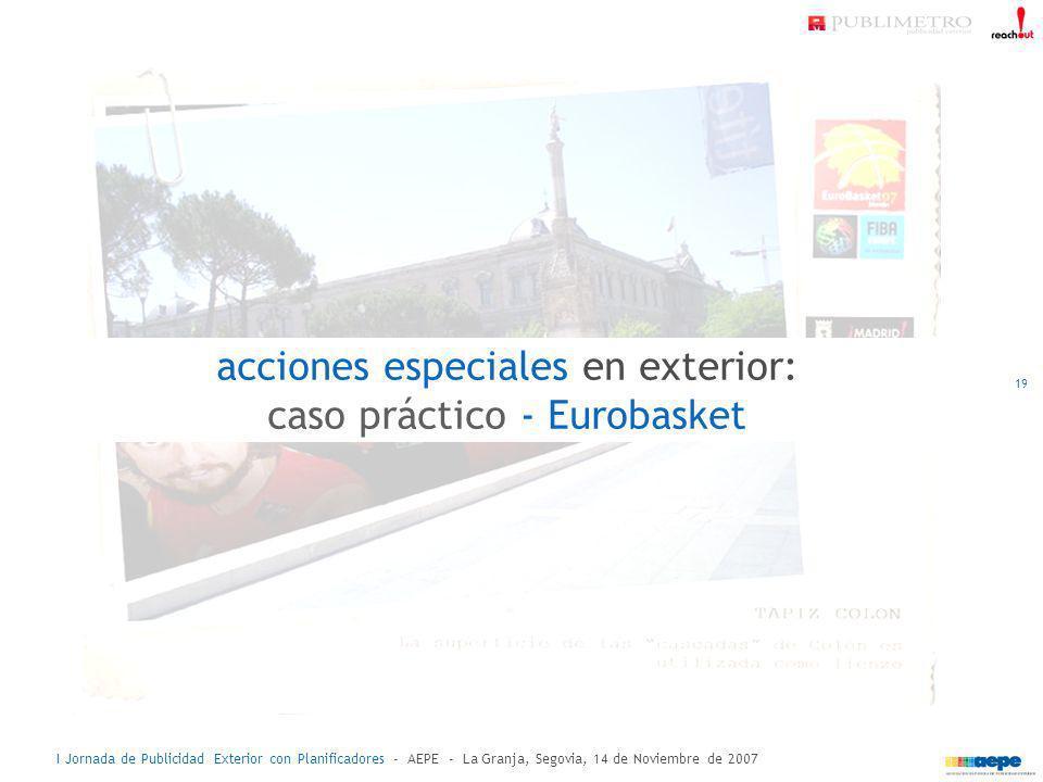 acciones especiales en exterior: caso práctico - Eurobasket