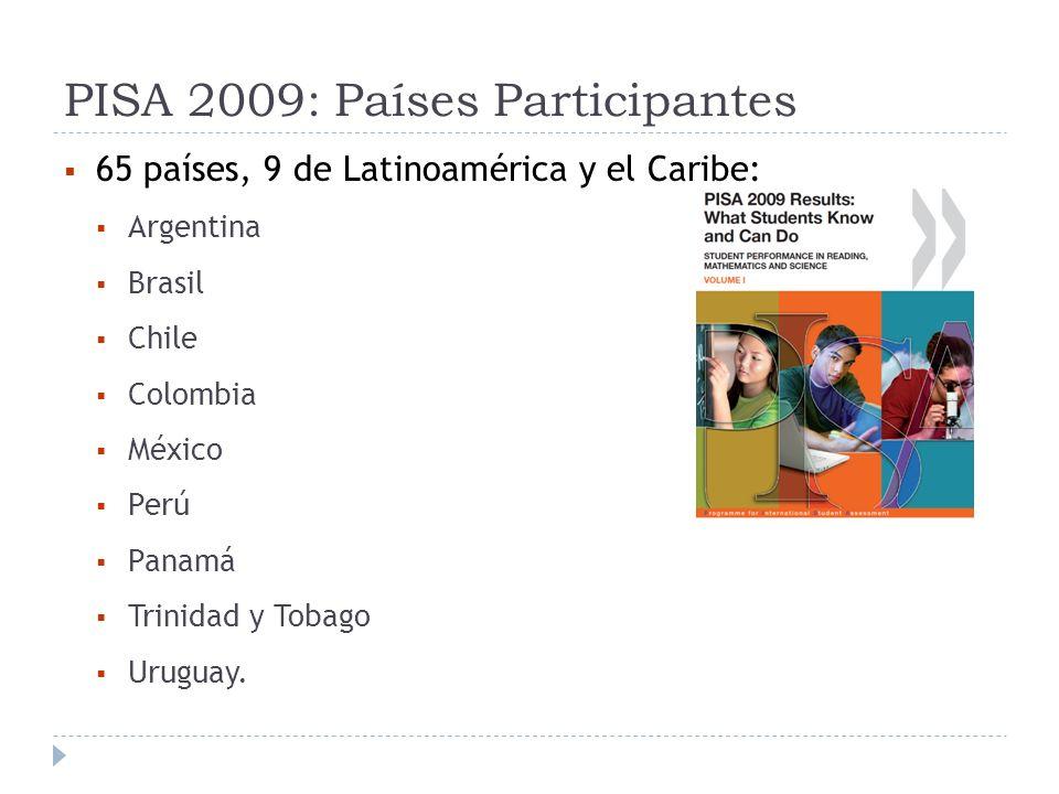 PISA 2009: Países Participantes